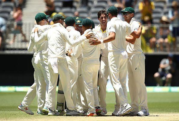 Australia squared the series at Perth