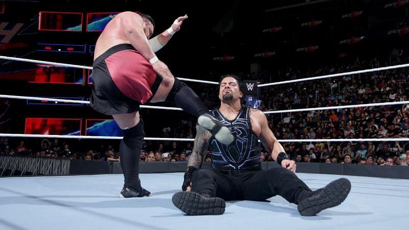 Reigns vs Joe