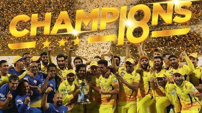 2018 IPL champion CSK