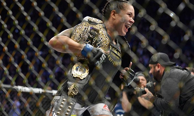 The greatest female fighter in history.
