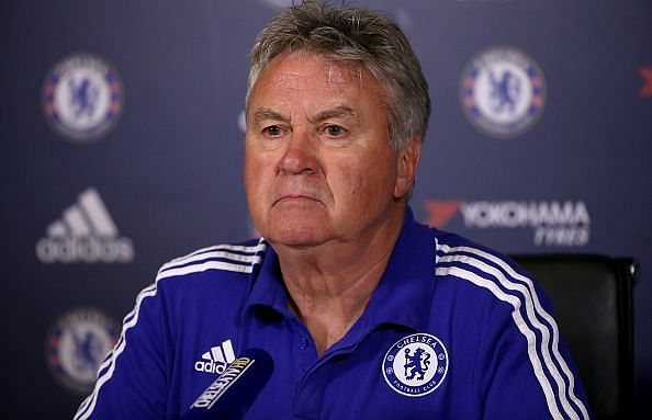Guus Hiddink was appointed to clean up a mess at Chelsea on two occasions