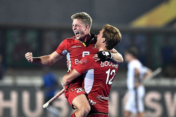 lympic silver medallist Belgium qualified for the semifinals of the men