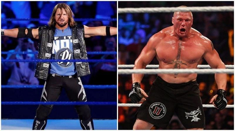 AJ Styles and Brock Lesnar can tear the house down at WrestleMania 35