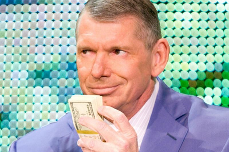 Whatever these storyline plans turn out to be, you know Vince is doing them to hold more of his favorite thing in the world.