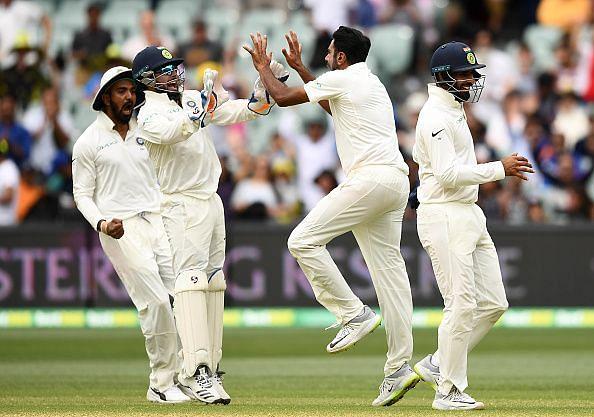 Australia v India - 1st Test: Day 5