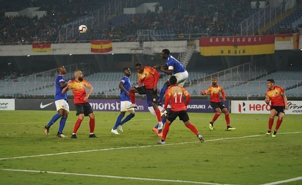 Real Kashmir and East Bengal stay at third and fourth respectively after the draw (All Images owned by AIFF)