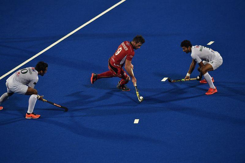 Belgium exploit chances well in the first quarter