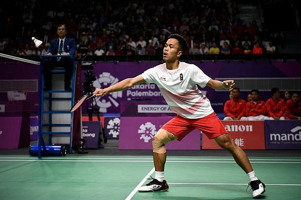 Anthony Sinisuka Ginting was the surprise package this year