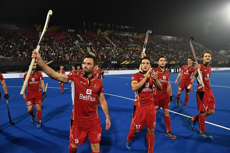 Belgium thrashed Pakistan to enter the quarterfinals (Image Courtesy: Hockey India)