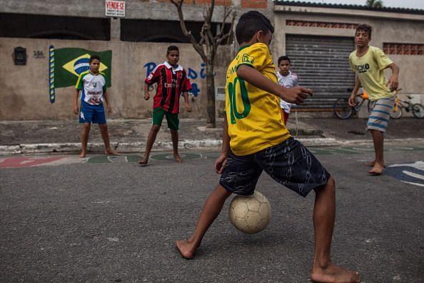 Santos, Brazil takes pride in star player Neymar