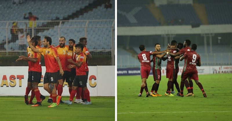 The East Bengal v Mohun Bagan fixture promises to be one that will decide the title hopes for both sides
