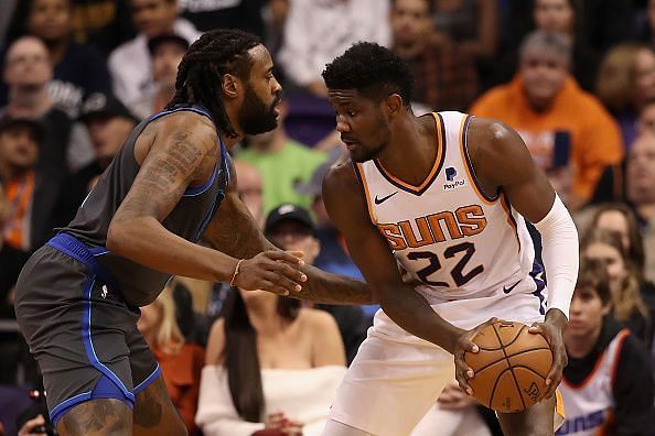 Deandre Ayton had a career night against the Nuggets