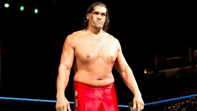 The Great Khali did not really impress with his run as the World Heavyweight Champion