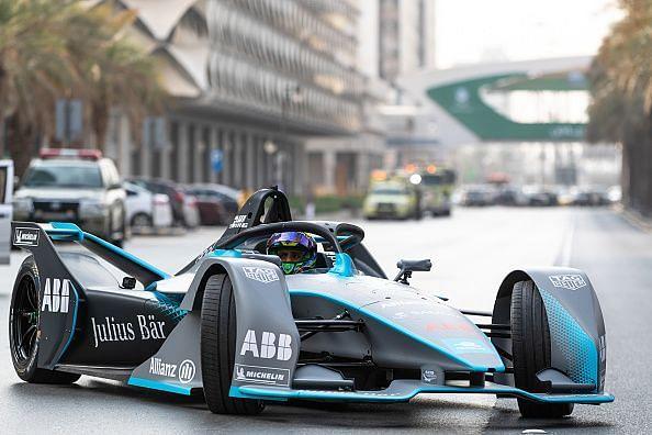 Felipe Massa launches new SAUDIA Ad Diriyah E-Prix at the Ad Diriyah UNESCO Heritage site Saudi Arabia - ahead of The ABB FIA Formula E Championship - Season 5 opening race