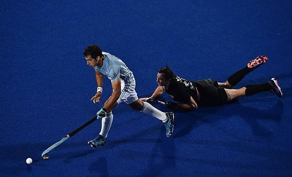 New Zealand struggled in their match against Argentina