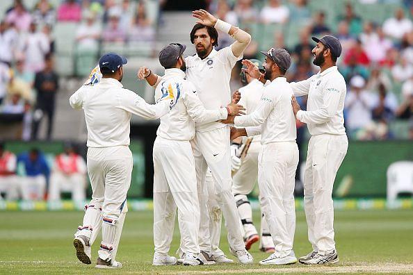 Ishant Sharma has had a good year with the ball