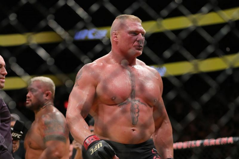 Brock Lesnar: Seemingly set for an Octagon return in 2019