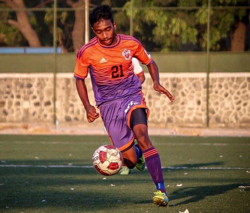 Johnson Mathews, FC Pune City youth team striker