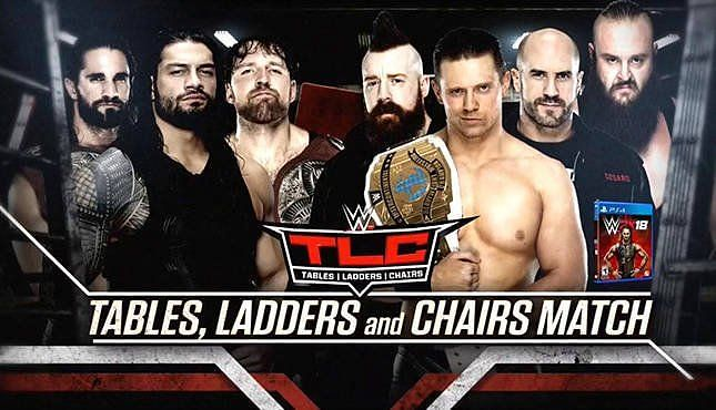 Image result for kurt angle replaces roman reigns tlc