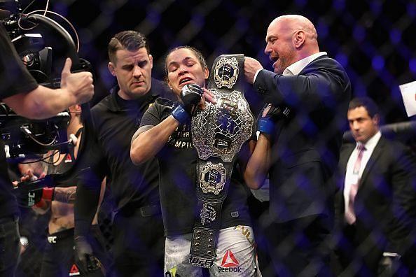 Amanda Nunes: Shocked the world at UFC 232