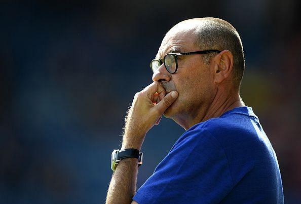 Maurizio Sarri - Chelsea's head coach