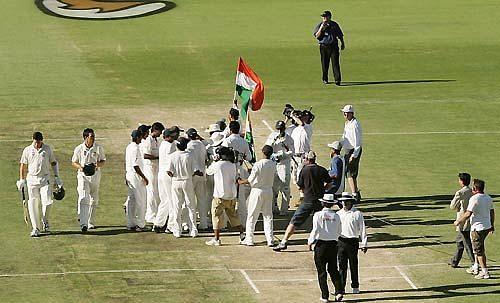 पर्थ में जीत हासिल करने के बाद भारतीय टीम
