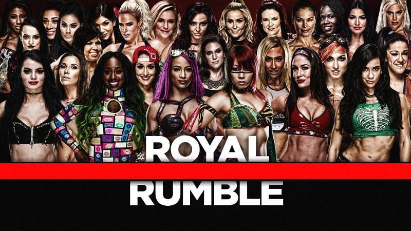 Royal Rumble will be WWE