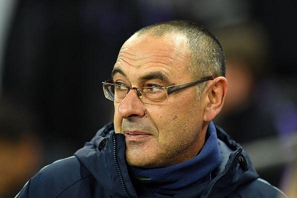 Maurizio Sarri has confirmed Chelsea