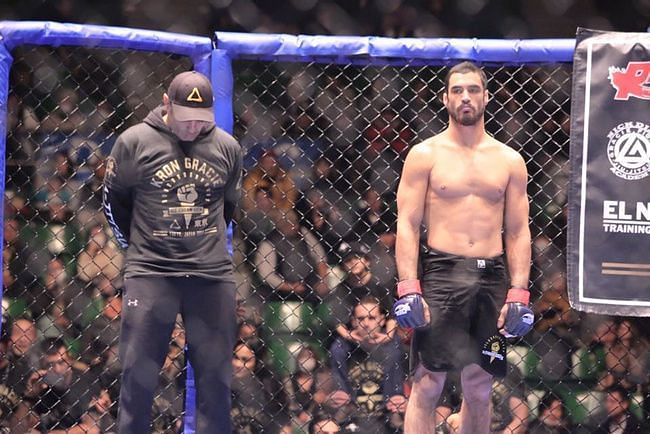Kron Gracie (right) set to make his UFC debut at UFC 233