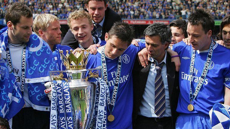 Mourinho's 2004-05 title triumph