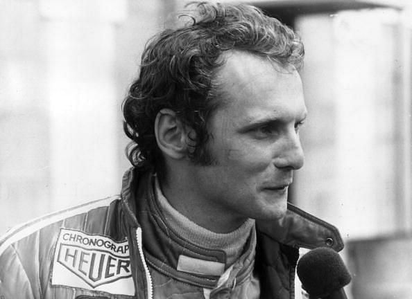 Niki Lauda is joint ninth on the all-time list