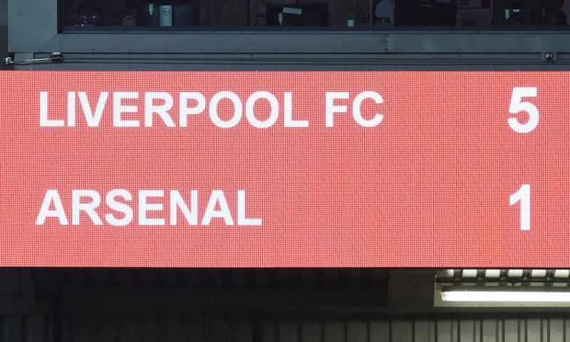 Arsenal were demolished by in form Liverpool