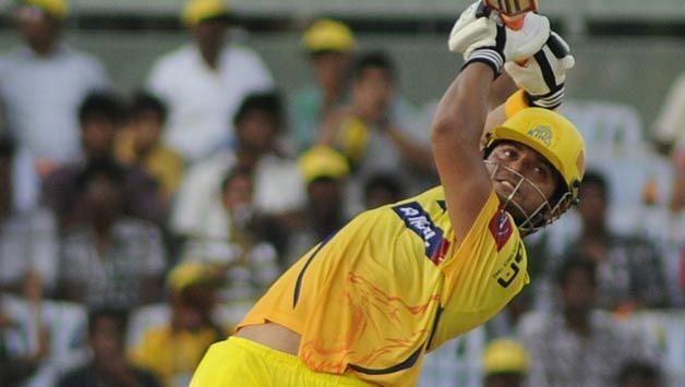 Suresh Raina hit the maximum number of sixes for CSK in IPL 2008