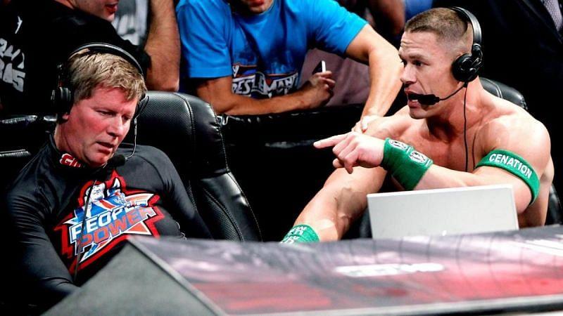 John Cena and John Laurinaitis