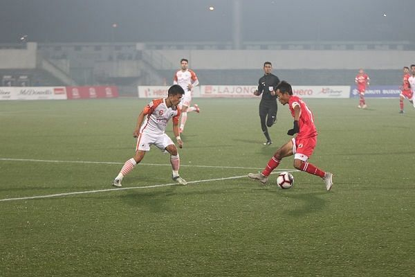 The lack of experience in the Lajong team is also a reason why they haven