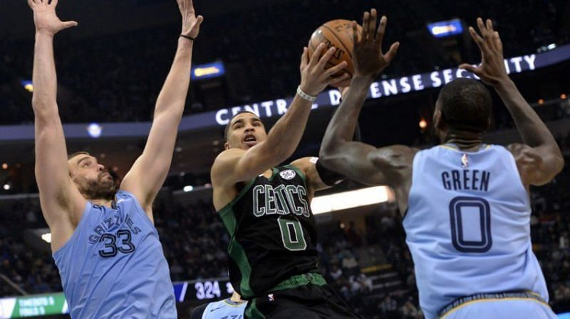 Boston stunned Memphis in the second half