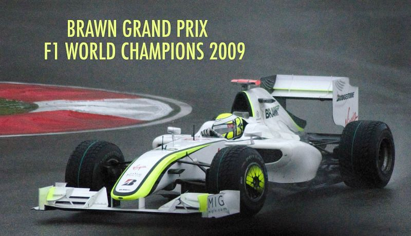 Brawn GP rose out of the ashes of Honda take an unexpected title in 2009