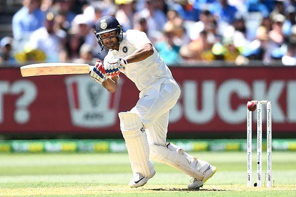 Mayank Agarwal scored a half-century on debut against Australia