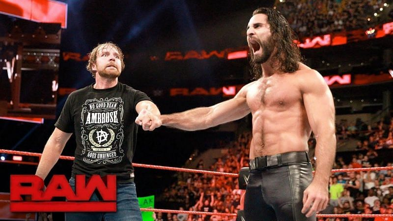 Both Ambrose and Rollins got new names upon joining the company.