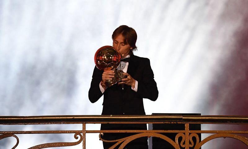 Modric wins the Ballon d