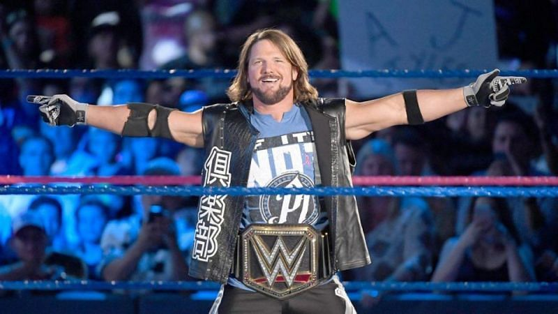 Could AJ take back the belt he held and defended for much of the last year and change?
