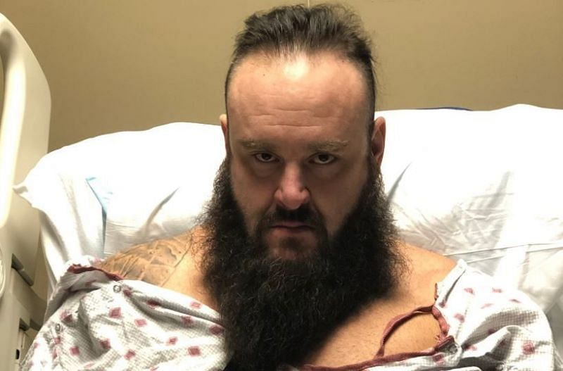 Braun Strowman is on the road to recovery
