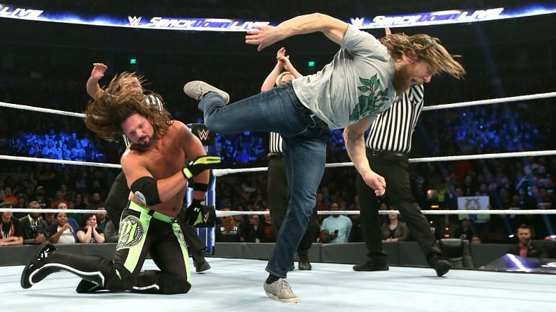 Styles and Bryan will contest for the WWE Championship.