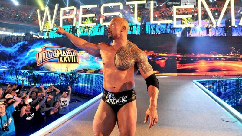 The Great One made history at WrestleMania 28