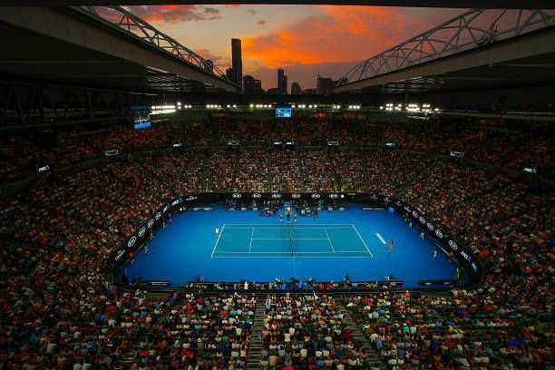 Rod Laver Arena - one of the first Sports arenas in the world to have a retractable roofing system