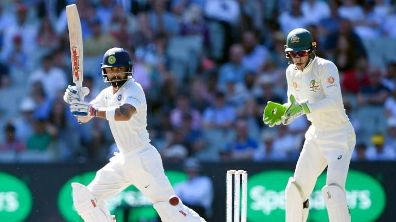 Virat Kohli has piled on runs against Australia