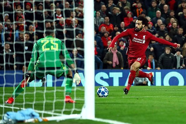 Liverpool held on to a narrow win against Napoli