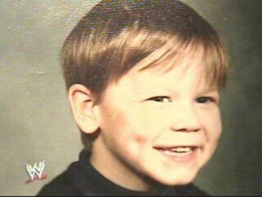 John Cena as a child.
