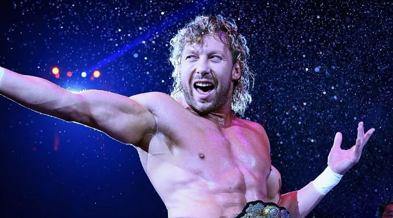 Kenny Omega, current New Japan Pro Wrestling IWGP Heavyweight champion.