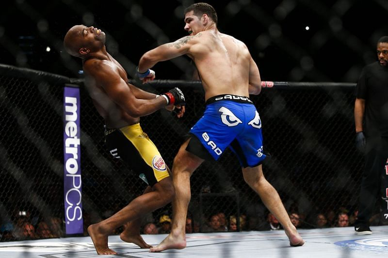 Chris Weidman did for Anderson Silva once again at UFC 168